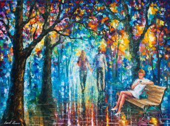 The Gossip Implication by Leonid Afremov by Leonidafremov