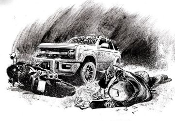 Motorcycle Accident by RogerBonetMartinez