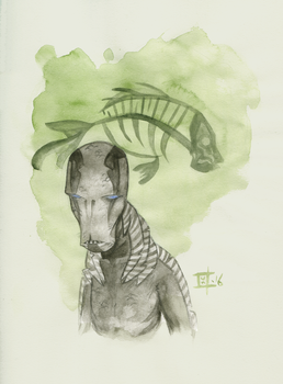 Abe Sapien by willymerry