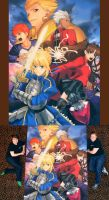 Fate/Stay-Night by ChalkTwins