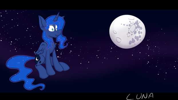 Luna in The Stars by mrmayortheiv