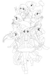 Tenshi Zutto-Chan GC Wallpaper LINE ART by KamE-pig