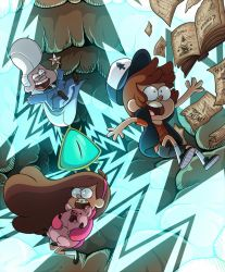 Gravity Falls by miikanism