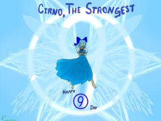 The Strongest, Ascended! (Cirno Day 2018) by DFroGGotten1