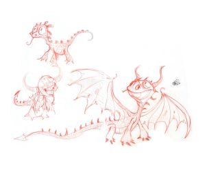 How to train your dragon 2 by Lelpel