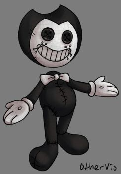 Bendy-Coraline Doll by OtherVio