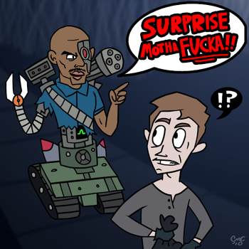 The Revenge of Robo-Doakes by Blade-zulah