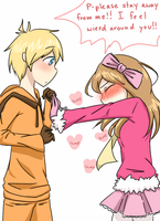 Kenny x Holly comission~~ by NiniTheWeenie