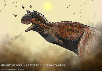Carnotaurus by Christoferson