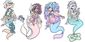 (CLOSED) Protectors of Atlantis guest adopts by star-stickers
