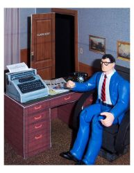 Diorama Plans: Clark Kent's Office by WeirdFantasticToys