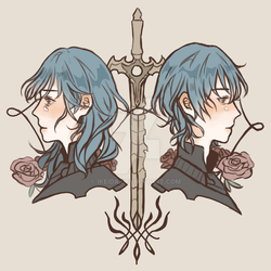 Fire Emblem Three Houses - Byleth