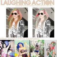 Laughing Action by PartyWithTheStars