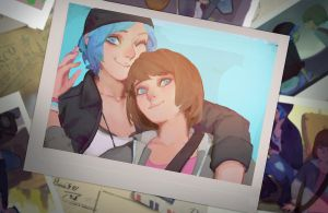 life is strange - max and chloe by FENGLI-LEE