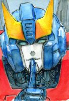 Smokescreen g1 watercolor sketch by Aiuke