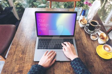 Elegant and Clean Macbook Pro Mockups by theanthnonyrich