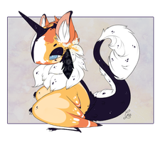 Birdfolk auction: Midnight Sun CLOSED by Geelly