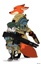 Zootopia: The Division by MoeAlmighty