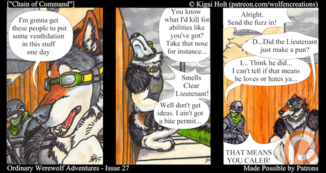 Ordinary Werewolf Adventures - Chain of Command by Kigai-Holt