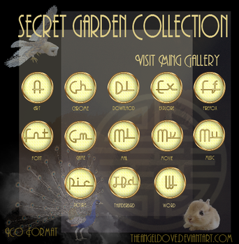 Secret Garden Collection by TheAngeldove