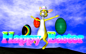 Rabbit - Happy Easter by TheRPGPlayer