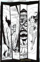 TEEN TITANS #97 Titans Team Up NICOLA SCOTT $70 by DRHazlewood