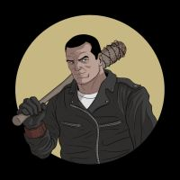 Negan by Havokmp