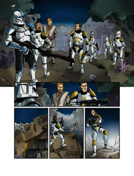 Star Wars Clone Wars - Titan Try-Out Colours by palmaay