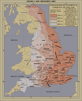 Anglo Saxon Settlement and Invasion of England by zalezsky