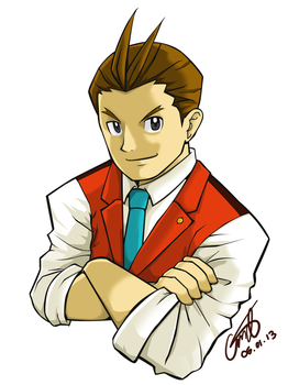 Apollo Justice at your service! by kiseki009