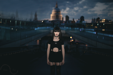 Goth and St Paul's by ElenaIsac