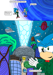 Sonic Freedom Files: Lost and Found Part 1 Page 9 by SkippyP008