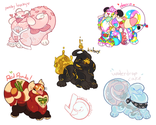 Closed - Pet Leech Monster Adopts by occultic
