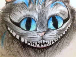 Cheshire Cat by ByYasmin