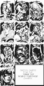 SKETCH CARD ART by mikecollins