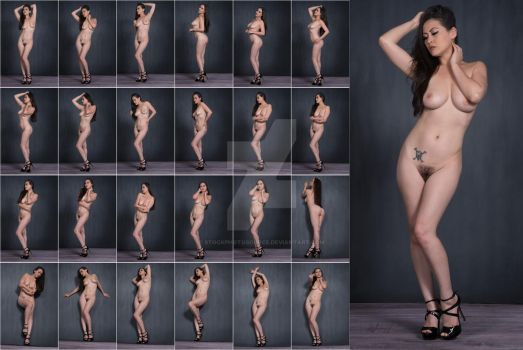 Stock: Asia Art Nude in Heels - 24 Images by stockphotosource