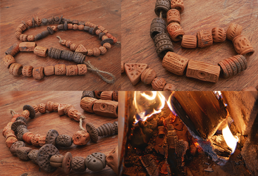 Primitive pottery experiments! by Nymla