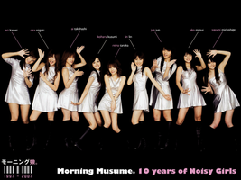 Morning Musume 10th by PucchiQ