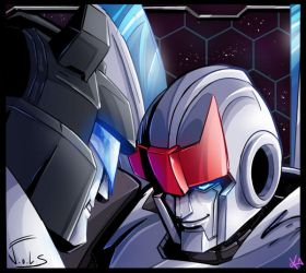 Jazz and Prowl by TheButterfly