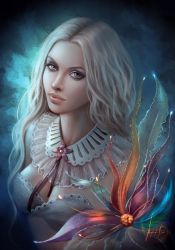 Mystic Flower by MissQualle