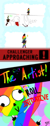 THE CHALLENGER HAS APPEARED! p1 by iiTsukiko