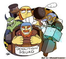 Demolition Squad by Adam-Clowery