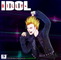 Billy Idol Fan Art by GraphicAnime