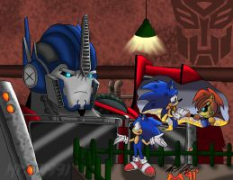 Sonic's New Allies by Mitsi1991