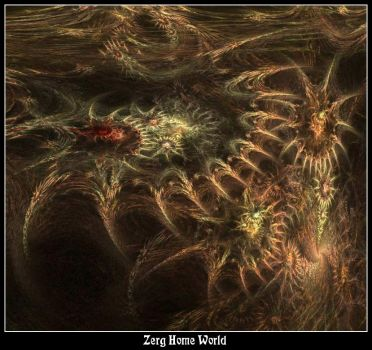 Zerg Home World by wavefreak