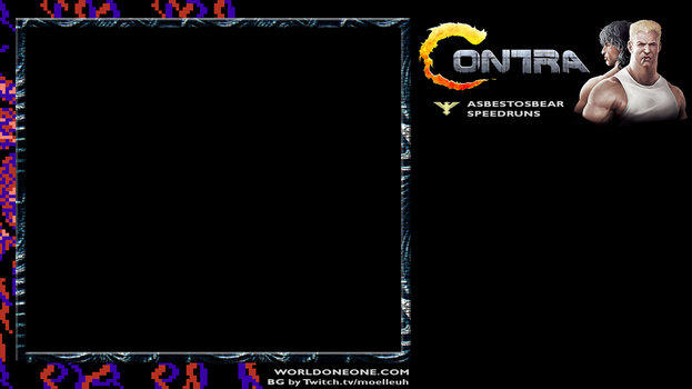Contra Stream Background / Skin by Moelleuh