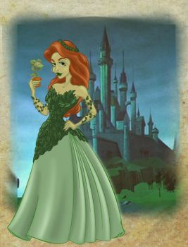 Disney Princess Poison Ivy by BrowncoatFiction