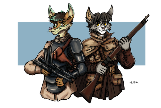 Azimuth and Komodo - Battlefield 1 by TheLivingShadow