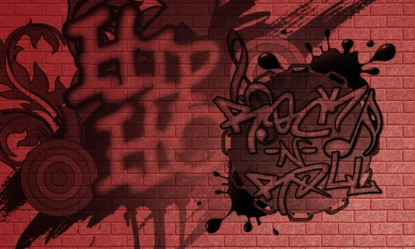 Graffiti Brushes by StarwaltDesign