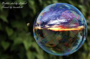 sunset in a bubble 2 by twombold